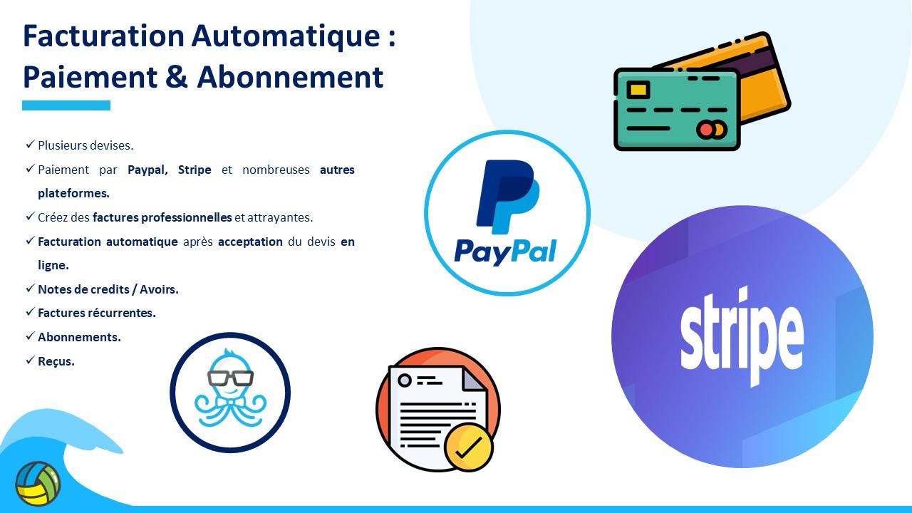 paiement et facturation