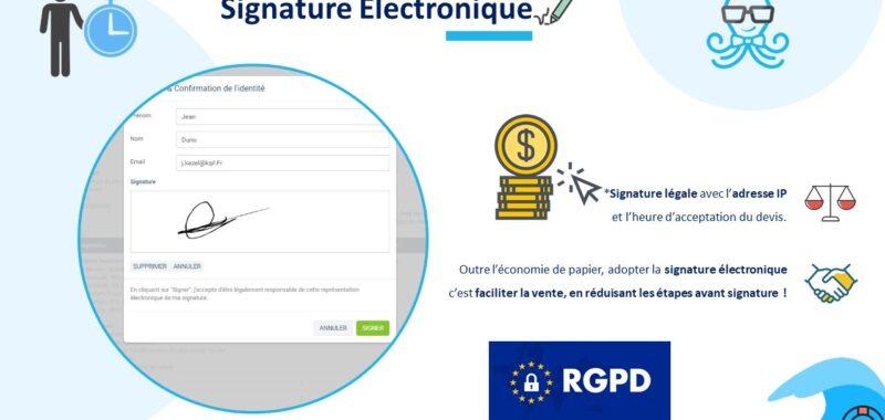 Avantages de la signature électronique pour votre entreprise